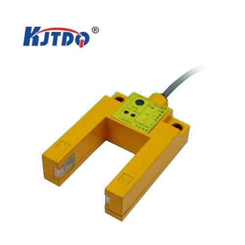 Yellow Infrared Photoelectric Sensor , U Type Photoelectric Sensor For G52-U Amplifier